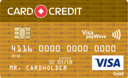 Card Credit Gold кредитная карта
