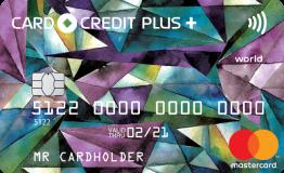 Кредитная карта Card Credit Plus MasterCard World