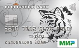 Кредитная карта Тепло банк Восточный