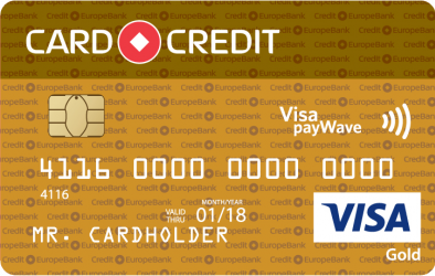 Card Credit Gold кредитная карта