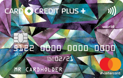Кредитная карта Card Credit Plus MasterCard World